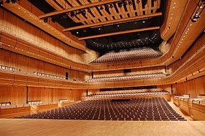 Sage Gateshead - The interior of Hall 1