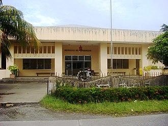 Aurora (province) - Image: Halls of Justice, Regional Trial Court in Baler, Aurora