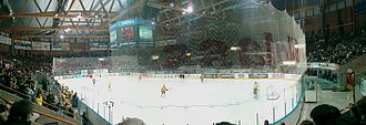 CC Amfi - Storhamar Dragons playing Frisk Tigers during the 2007–08 Norwegian Play-Off Finals