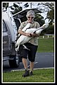 Hammy with Captured Pelican Shorncliffe-3 (6510232773).jpg