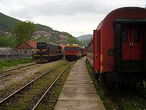 Elez Han - Elez Han train station