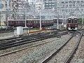 Hankyu Umeda same time departure.jpg
