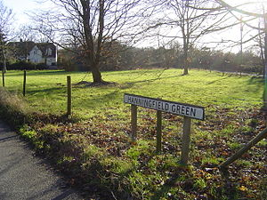 Lawshall - Hanningfield Green - possible site of Bronze Age settlement