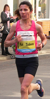 Souad Aït Salem Algerian long-distance runner