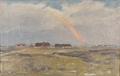 Hans Agersnap - Landskab med regnbue.png