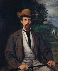 Self-Portrait with Yellow Hat