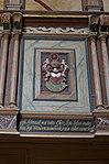 Hanstorf Kirche Logenwappen Dorathea von Rewentlow.jpg