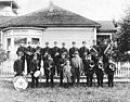 Happy Valley Band taken in front of the Olson House on the Grange Hall Road, Redmond, Washington, 1907 (WASTATE 1088).jpeg