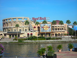 Universal CityWalk - Current Hard Rock Café at Universal Studios Florida