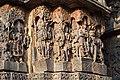 Harihara panel (left) at Hoysaleshwara Temple Halebid.jpg