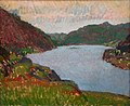 Harold Gilman - Lake In The Hills - 1968-32 - Auckland Art Gallery.jpg