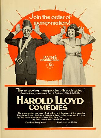 Harold Lloyd filmography - Advertisement for Harold Lloyd Comedies (1919)