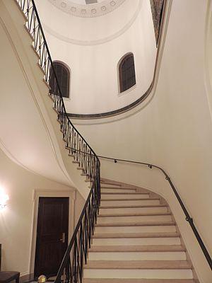 Harold Pratt House - Staircase