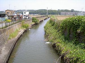 Zama, Kanagawa - Image: Hatogawa river 02