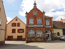The town hall in Hattmatt