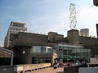 Art gallery in Southbank Centre, Central London, UK