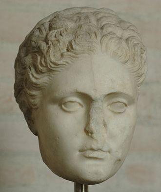 Sappho - Image: Head Sappho Glyptothek Munich