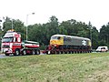Heavy Haulage And Its Escort Vehicle - geograph.org.uk - 1490424.jpg