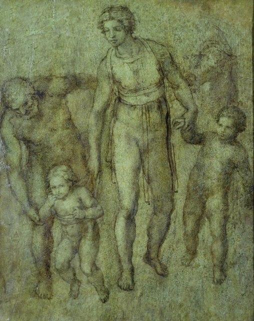 Heilige Familie mit dem Johannesknaben (Ashmolean Museum)
