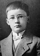Heinrich Himmler as a child