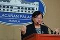 Helen dela Vega - Malacañan Press Briefing (03).jpg