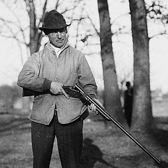 John H. Hendrickson - Hendrickson in 1912 on Travers Island, New York
