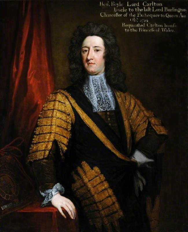 Henry Boyle Lord Carleton by Godfrey Kneller