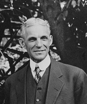 Генри Форд 1914 год