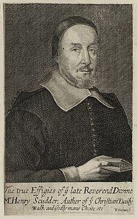 Henry Scudder (priest) English clergyman
