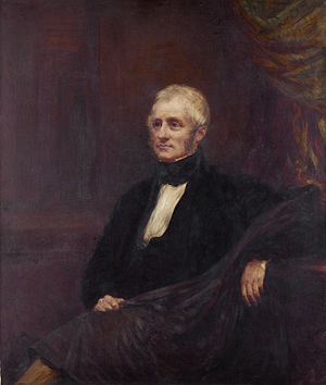 Henry Fox-Strangways, 3rd Earl of Ilchester - Henry Stephen Fox-Strangways (John Linnell, 1848)