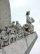 Padrão dos Descobrimentos, a monument to Prince Henry the Navigator and the Portuguese Age of Discovery, Lisbon