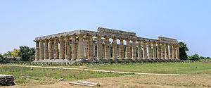 Paestum - First temple of Hera, c. 550 BC