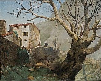 Hiacynt Alchimowicz - Landscape in the Pyrenees