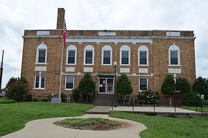 Hickman County Courthouse - Centerville Tennessee 8-31-2014.JPG