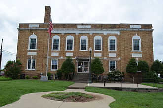 Hickman County, Tennessee - Image: Hickman County Courthouse Centerville Tennessee 8 31 2014