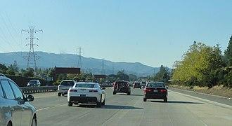 California State Route 85 - SR 85 in Los Gatos.