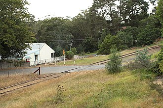 Hill Top, New South Wales - Image: Hill Top Railway Crossing