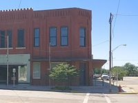 Historic Central National Bank in Alva.