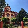 Historic high school in Sremski Karlovci. Istorijska gimnazija u Sremskim Karlovcima. Frontal.jpg