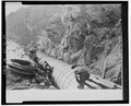 Historical photo of construction of wood stave pipe - Ogden Canyon Conduit, Ogden, Weber County, UT HAER UTAH,29-OGCA,2-21.tif