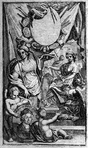 Roger de Piles - Image: Historie und Leben der berühmtesten europäischen Mahler frontispiece 1710