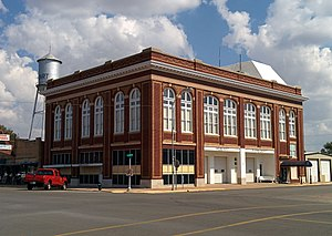 National Register of Historic Places listings in Kiowa County, Oklahoma - Image: Hobart City Hall