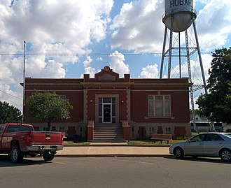 National Register of Historic Places listings in Kiowa County, Oklahoma - Image: Hobart Public Library