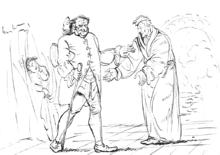 E.T.A. Hoffmann - Skizze Der Sandmann