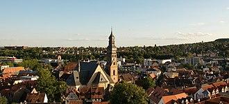 Hofheim, Hesse - View of Hofheim
