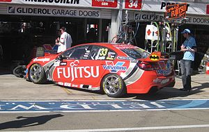 Scott McLaughlin (racing driver) - Image: Holden VF Commodore of Scott Mc Laughlin 2013
