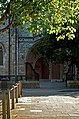 Holy Trinity RC Church Brook Green Entrance.jpg