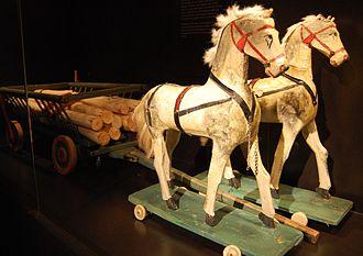 Model horse - Wooden horse figurines
