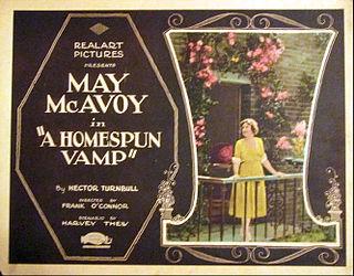 <i>A Homespun Vamp</i> 1922 film by Frank OConnor