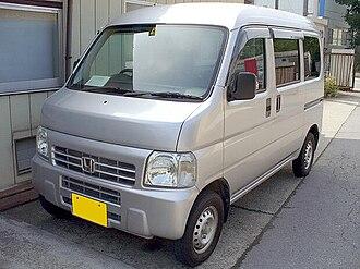 Microvan - Image: Honda Acty van 1999 (3rd)
